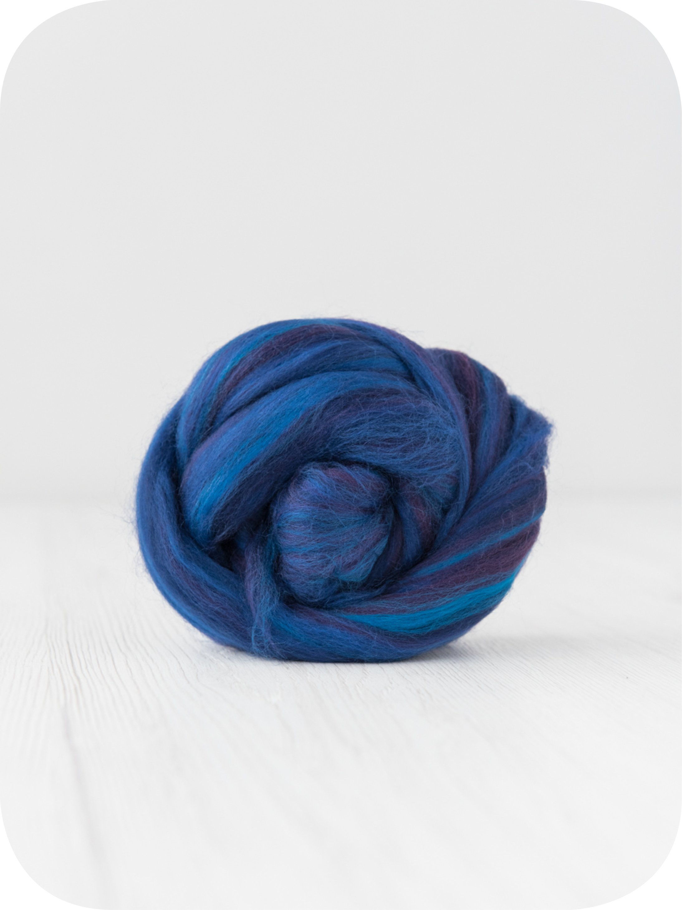 Image of 10 Kg. Extra Fine Merino Wool Tops (Sliver) - Sugar Candies Collection Morgana