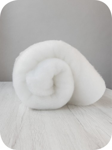 FELT - 2mm Thermoformable Wool - Padding Fiber - 500 gr. Pack