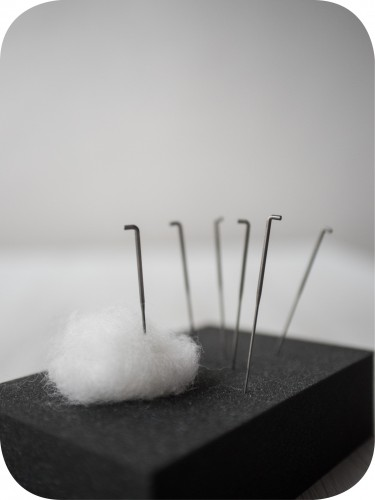 FIBERS - Carded Batts - Thick Needles