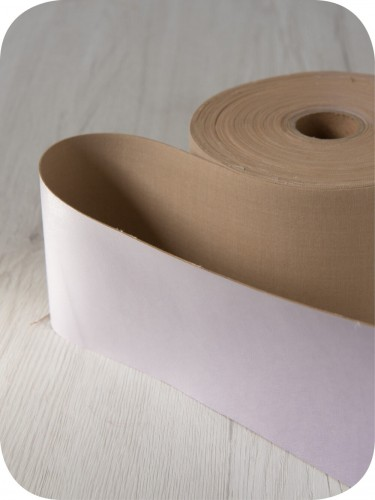 FELT - 2mm Thermoformable Wool - Deluxe Faux Leather Ribbon, 10 cm wide