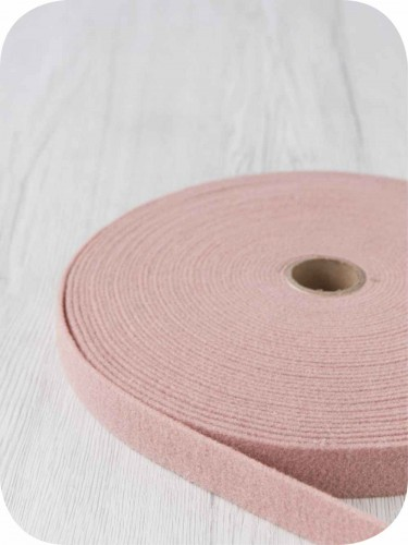 FELT - 2mm Thermoformable Wool - 2mm Wool Felt Ribbon, 2.5 cm wide