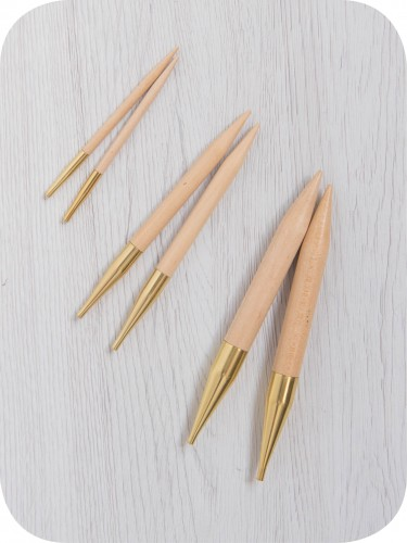 4.50 mm KNITPRO Basix Birch Interchangeable Circular Needles