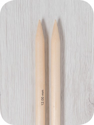 8.00 mm KNITPRO Basix Birch Double Point Needles